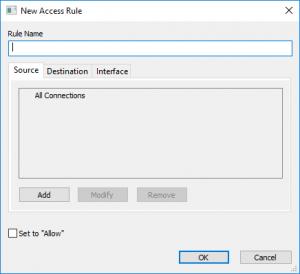 New Access Rule
